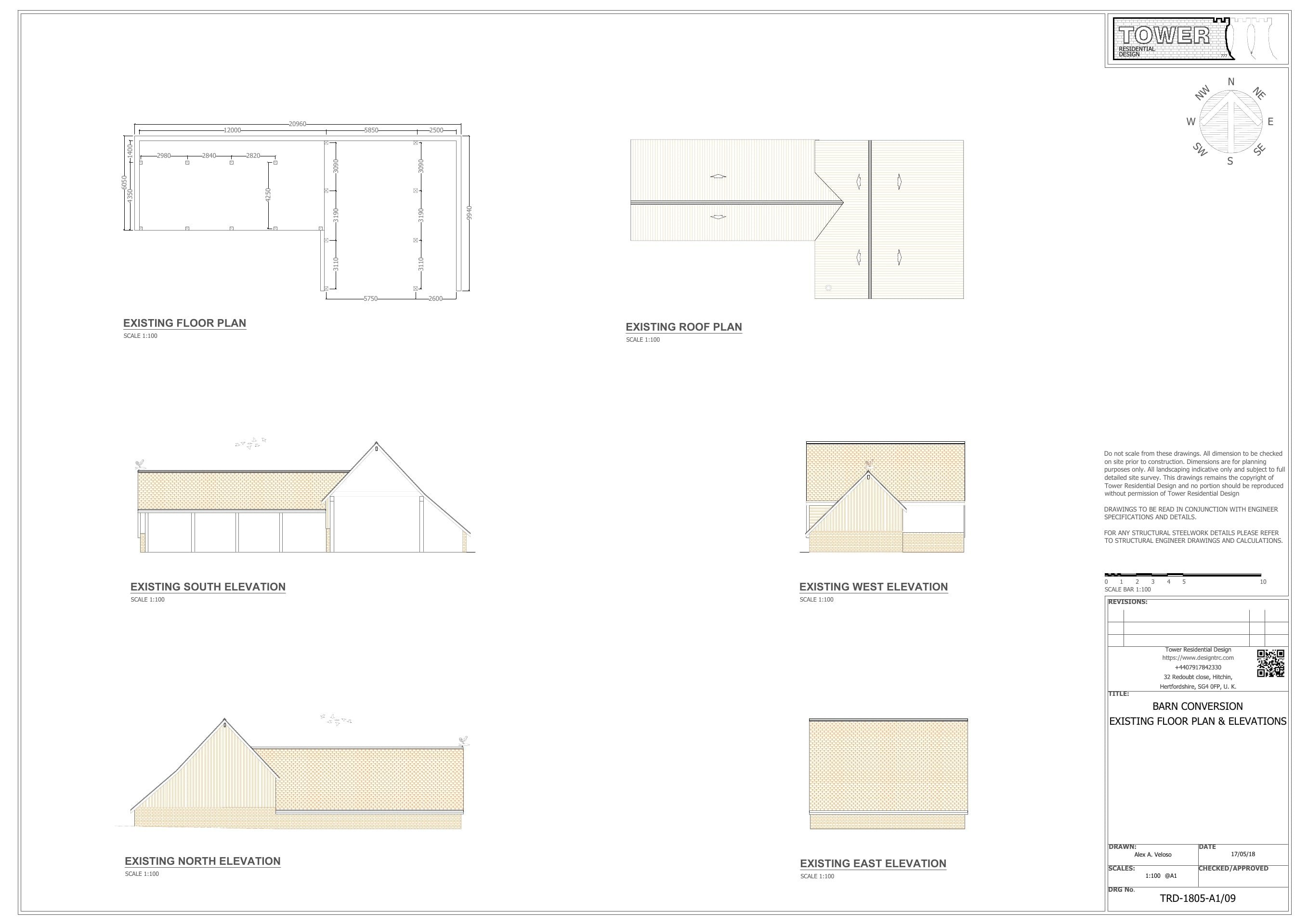 Barn Conversion, Home Design, Construction Plans