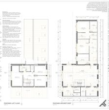 Barn Conversion - Plans for Planning Permission