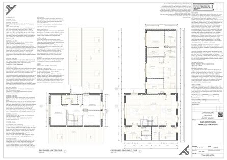 Barn Conversion - Proposed Floor Plan