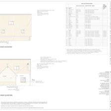 Barn Conversion - Architectural Elevations