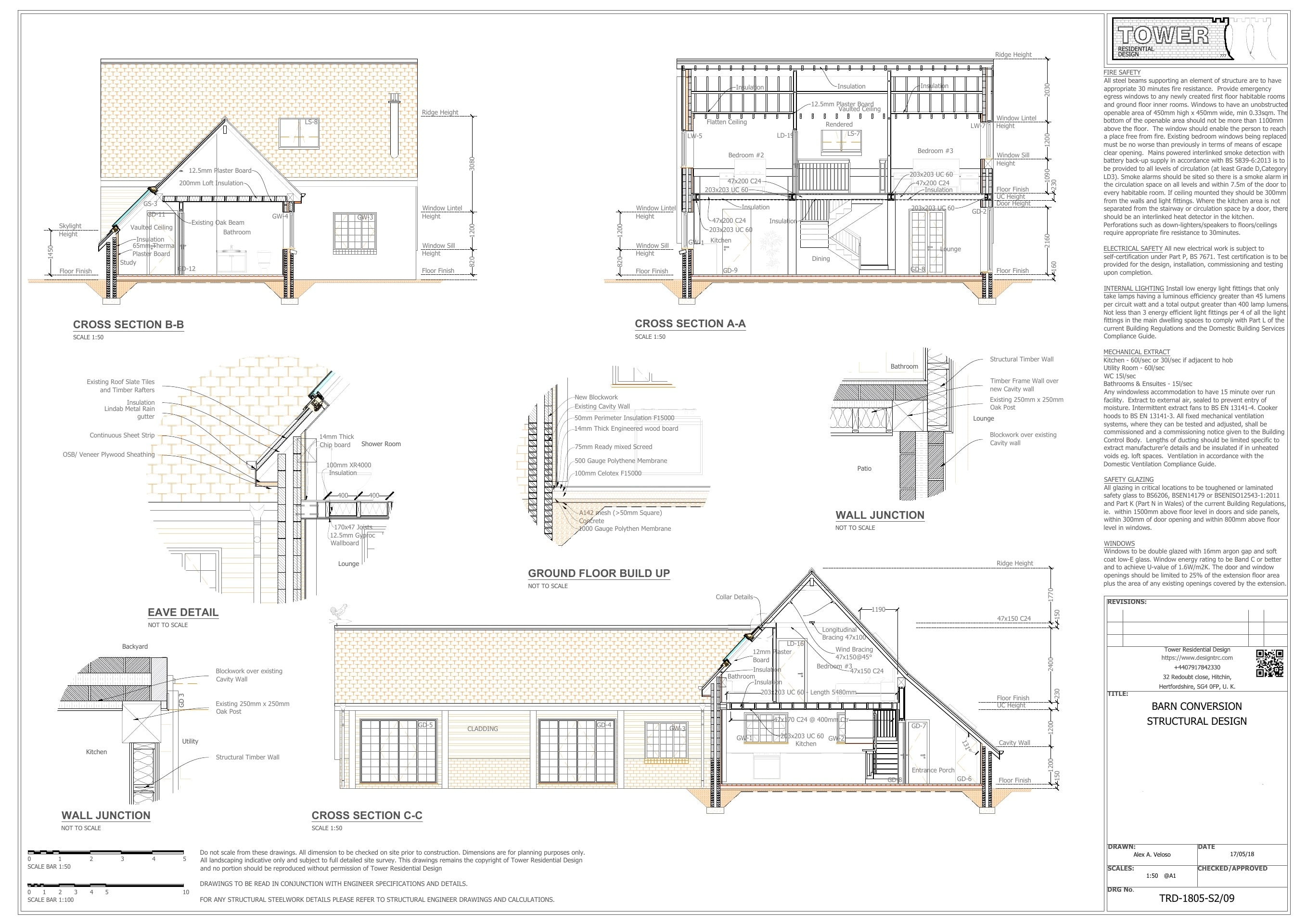Buildign Regulation - Barn Conversion Services