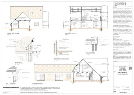 Barn Conversion - Structural Plans