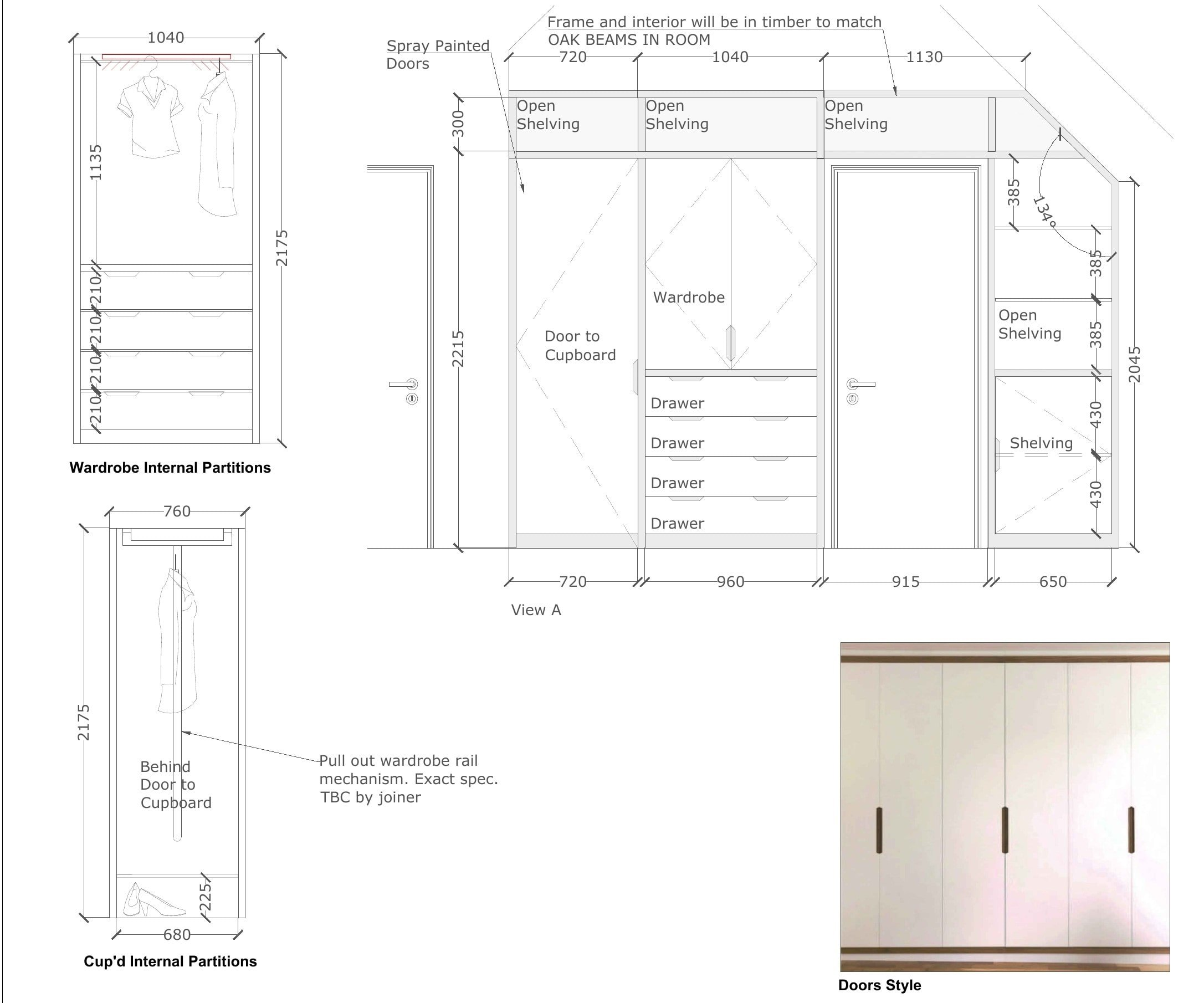 DESIGN DE INTERIORES, GUARDA - ROUPA BUILT - IN, MOVEIS, SANCAS
