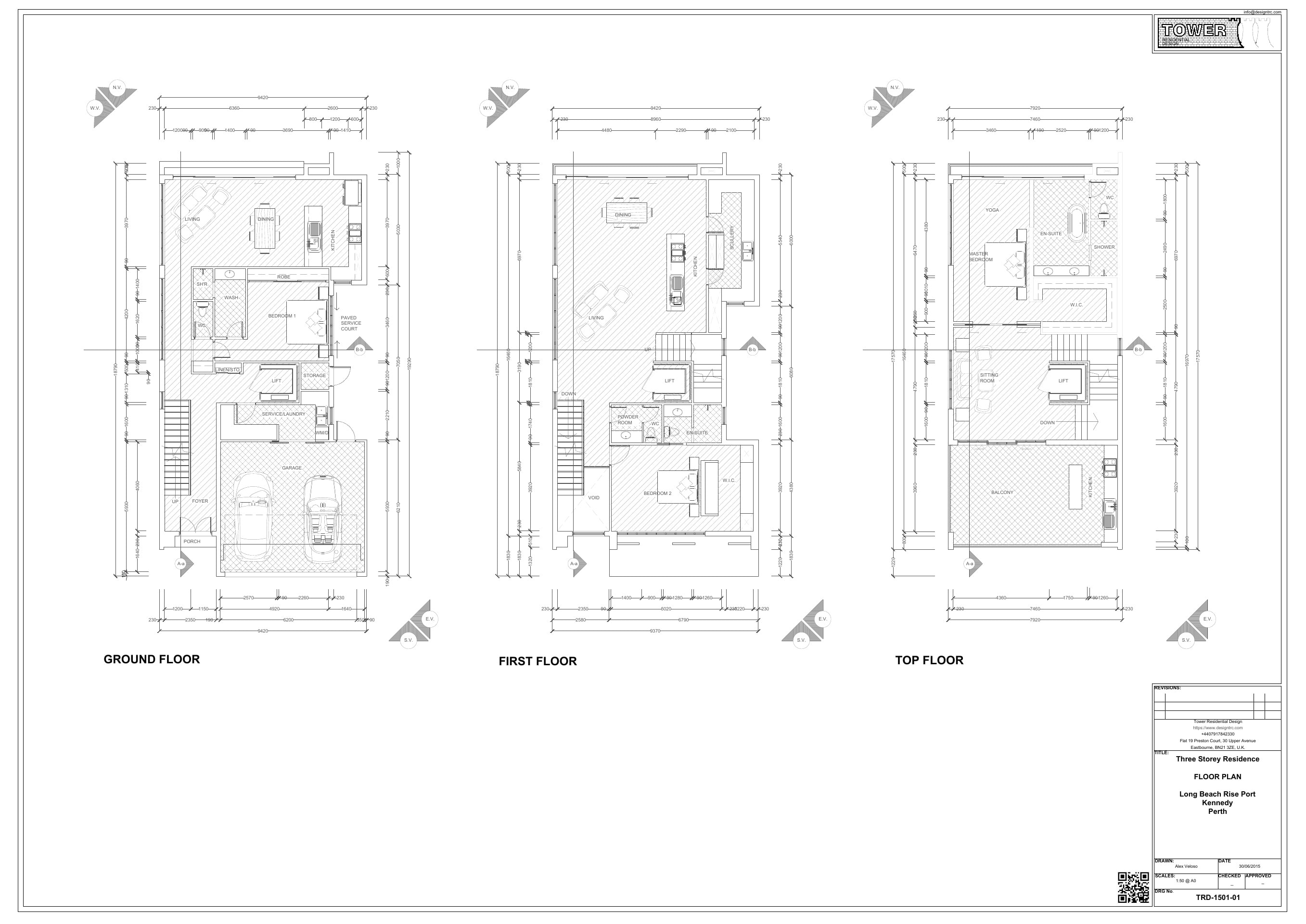 Contemporary Architecture - Floor Plan